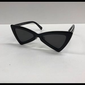 Saint Laurent 207 Cat Eyes Black Sunglasses